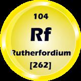 104 - Rutherfordium