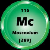 115 - Moscovium Button