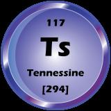 117 - Tennessine Button