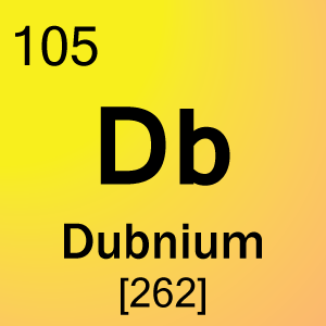Element 105 dubnium science notes and projects for 105 periodic table
