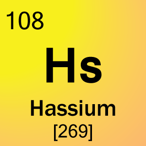 element 108 hassium science notes and projects