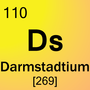 Element 110 darmstadtium science notes and projects for 110 element in periodic table
