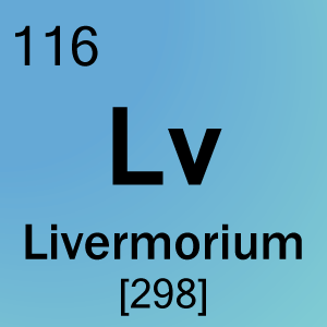 element 116 livermorium science notes and projects