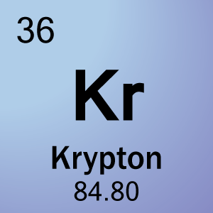 Krypton Element Periodic Table Element 36   Krypton
