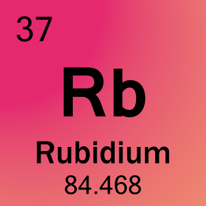 Element 37 - Rubidium - Science Notes and Projects