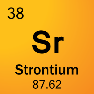 Element 38 - Strontium - Science Notes and Projects
