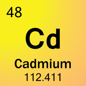 Dimethyl Cadmium on Carbon From Periodic Table