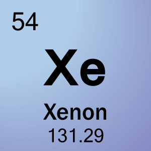 Alphabetical list of element symbols element 54 xenon urtaz Images