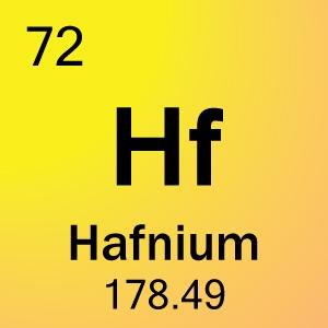 Hafnium Element hafnium - JungleKey.fr...