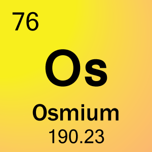 Element 76 - Osmium - Science Notes and Projects