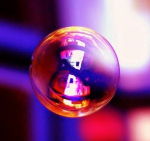 Colored Soap Bubble (brokenchopstick, Flickr)