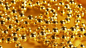 gold-beads