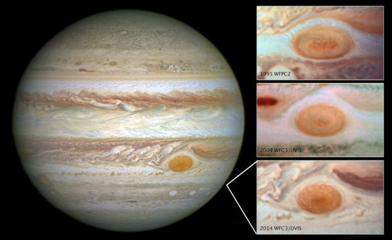 Jupiter's Red Spot Shrinkage