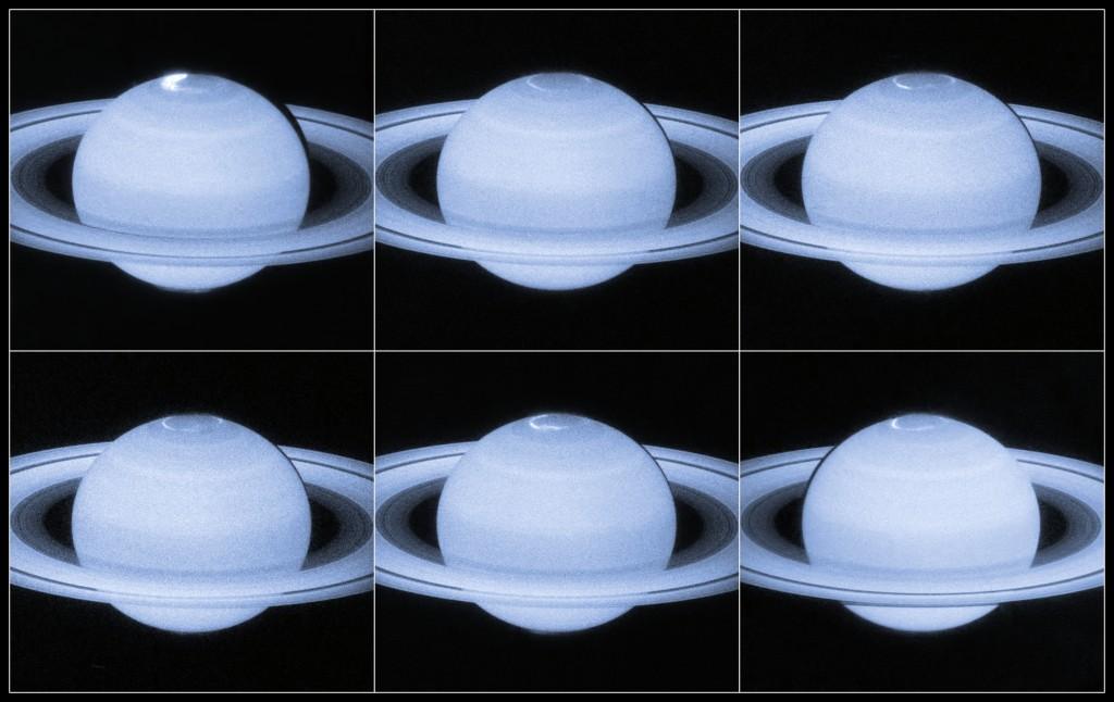 Saturn Auroras