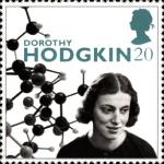 Dorothy Hodgkin 20p Stamp