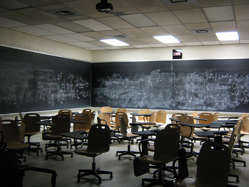 Empty Classroom Science Notes And Projects