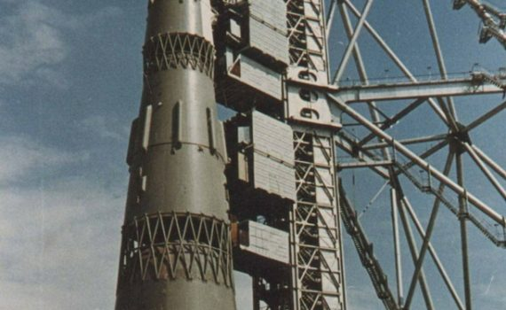 Soviet N1at the Launchpad