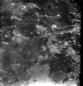 Ranger 7's First Picture of the Moon