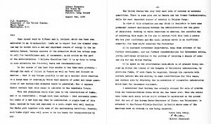 Einstein-Roosevelt Letter