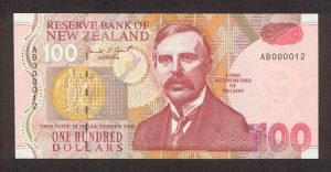 New Zealand $100 bill