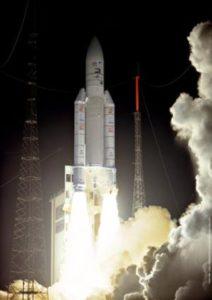 SMART-1 liftoff