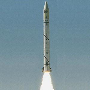 Shavit Rocket with Offeq-1 Satellite