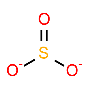 Sulfite Anion