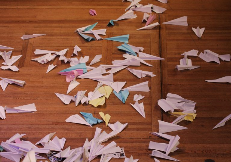 paper airplane science project research paper Paper airplane science just floating on air introduction after they are launched, paper airplanes fall through the air, pulled down by gravity as they fall wings deflect air backwards and so the plane glides forward.