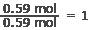 empirical formula ratio math 1