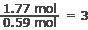 empirical formula ratio math 2