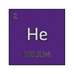 Color element cell for helium.