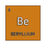Color element cell for beryllium.