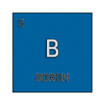 Color element cell for boron.