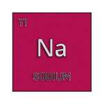 Color element cell for sodium.