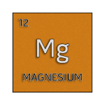 Color element cell for magnesium.