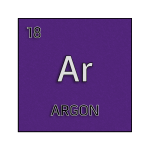 Color element cell for argon.