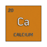 Color element cell for calcium.