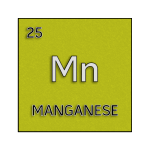 Color element cell for manganese.