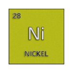 Color element cell for nickel.