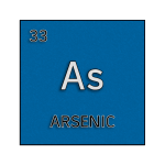 Color element cell for arsenic.