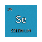 Color element cell for selenium.