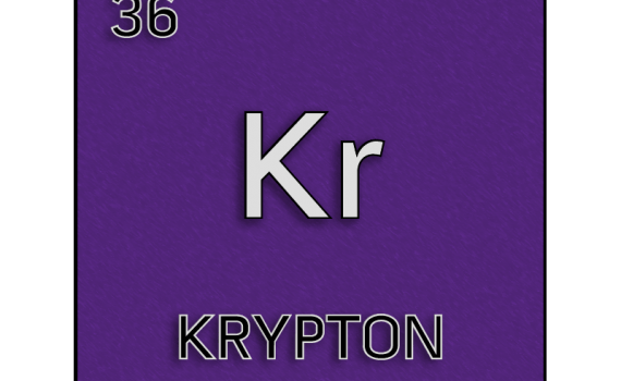 Color element cell for krypton.