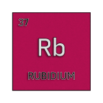 Color element cell for rubidium.