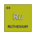 Color element cell for ruthenium.