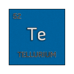 Color element cell for tellurium.