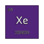 Color element cell for xenon.