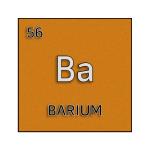 Color element cell for barium.