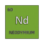 Color element cell for neodymium.
