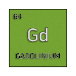 Color element cell for gadolinium.