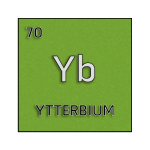 Color element cell for ytterbium.